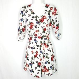 J for Justify romper, dress, size Small, floral.